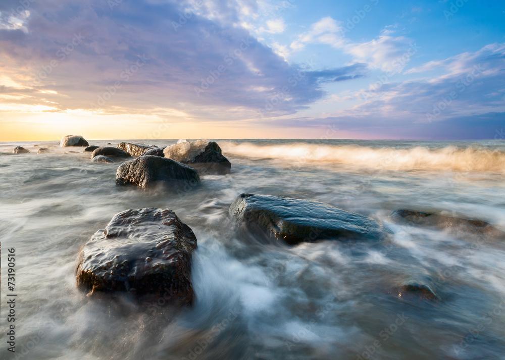 Fototapeta zimowe morze
