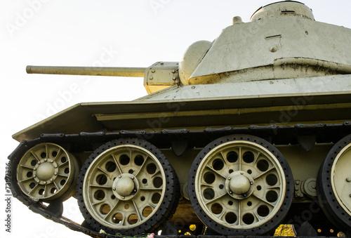 Fotografering  Carro armato sovietico