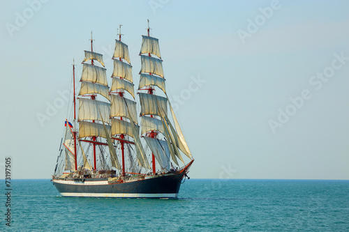 Keuken foto achterwand Schip Tall ship