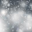Winter Background white grey