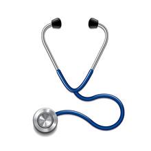 Stethoscope Isolated On White ...