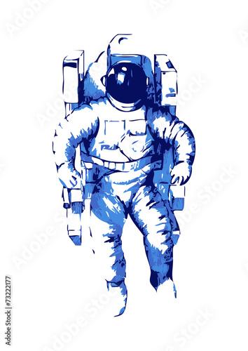 abstrakcjonistyczna-ilustracja-astronauta