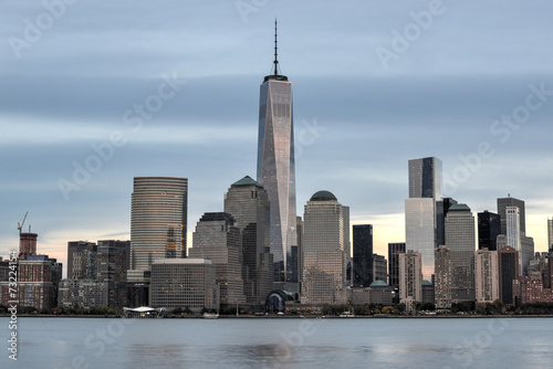 New York City Skyline from New Jersey Poster