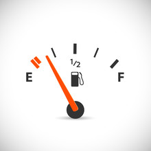 Gas Gage Illustration