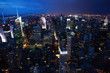 Night view of Manhattan, NewYork City