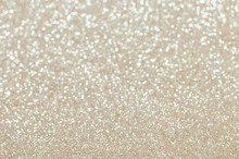 Defocused Abstract Pale Gold Lights Background