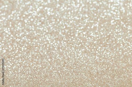 Fotografia, Obraz  defocused abstract pale gold lights background