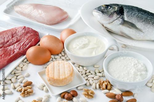 Fotografia  Żywność - białko