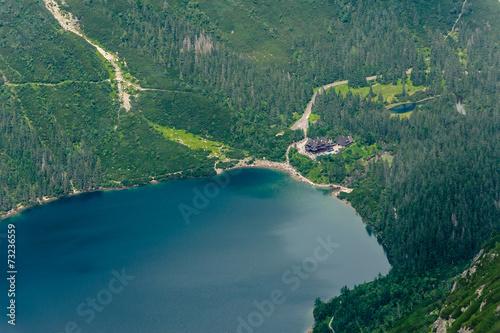 Fototapeta Jezioro w górach obraz