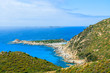View of Punta Molentis bay, Sardinia island, Italy