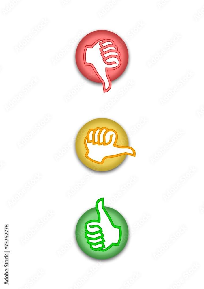 Gamesageddon Stock Abstimmung Ampel Rot Gelb Grun