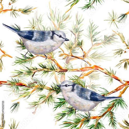Stoffe zum Nähen Weihnachten-nahtlose Textur-Aquarell