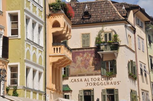 Fotografie, Obraz  Alststadt von Bozen Südtirol