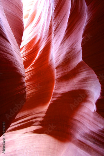 Fotobehang Rood Arizona - Antelope canyon (réserve Navajo)