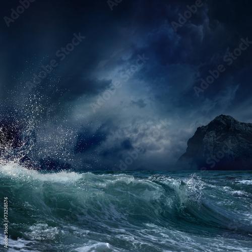 Fotografía Stormy sea