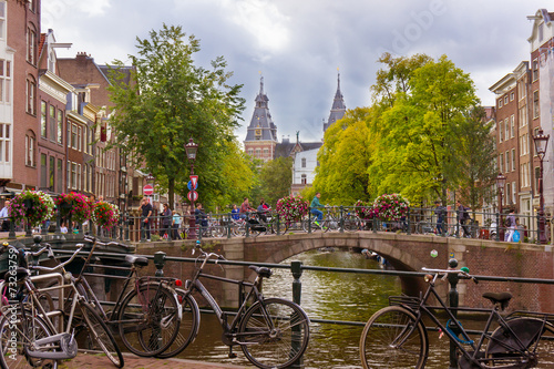 Fototapeta Amsterdam obraz na płótnie