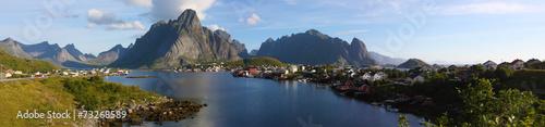 Papiers peints Scandinavie Reine panorama