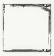 Grunge retro style frame for your projects