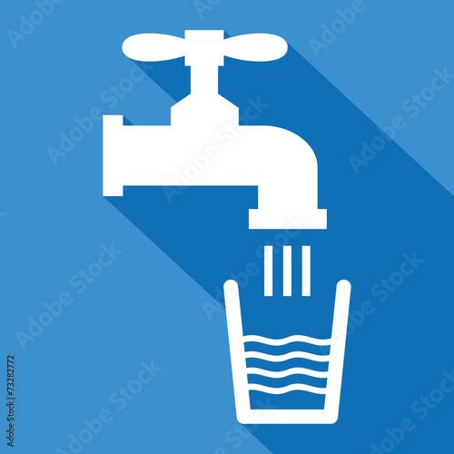 Fotografía  Logo eau potable.