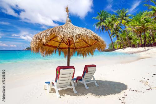 Cadres-photo bureau Tunisie Tropical beach scenery from sun holidays