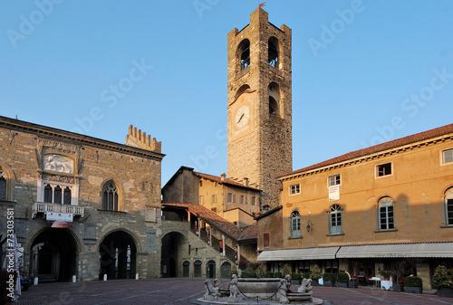 Photo  Piazza Vecchia, Bergamo Alta, Italia