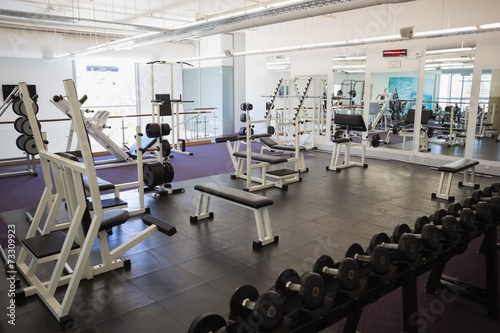 Papiers peints Fitness Equipments in the gym