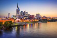 Nashville, Tennessee, USA City Skyline