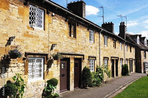 Cotswold cottages, Chipping Campden © Arena Photo UK Canvas-taulu