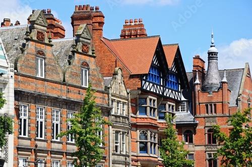 Old Market Square buildings, Nottingham © Arena Photo UK Canvas-taulu