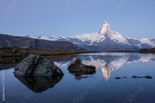 Foto op Plexiglas Panoramafoto s Matterhorn