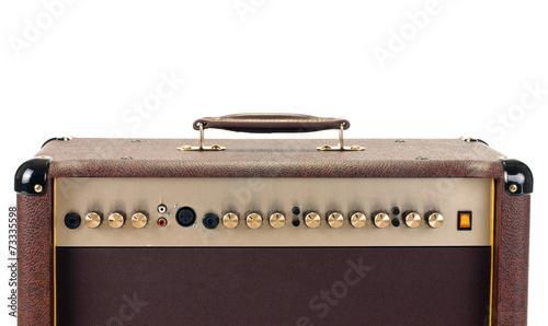 guitar amp Fototapeta