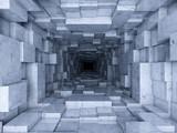 Fototapeta Perspektywa 3d - passage