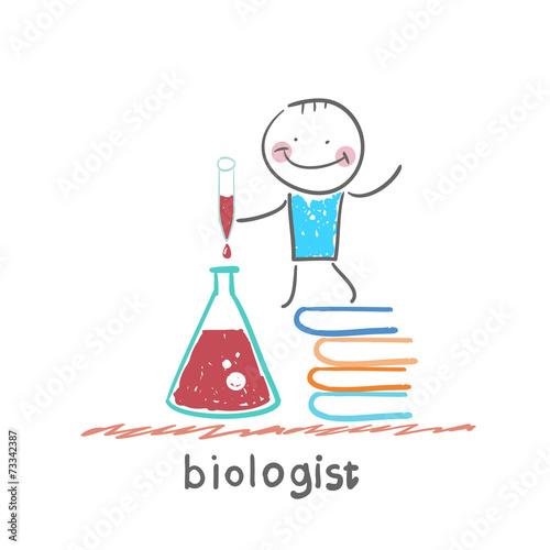 Fotografía  biologist