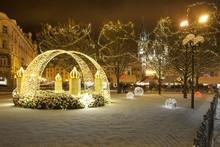 Christmas In City Prague