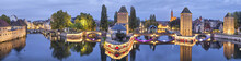 Evening Panorama Of Pont Couve...