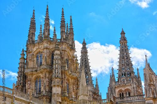 Cimborrio de la catedral de Burgos, gótico español