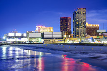 Atlantic City, New Jersey Cityscape