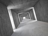 Fototapeta Perspektywa 3d - abstract tunnel