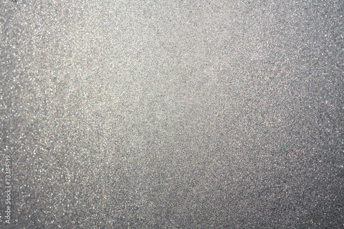 Fotografía  Abstract silver dust or sand background