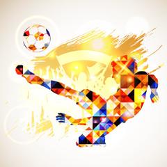 Fototapeta Soccer Concept