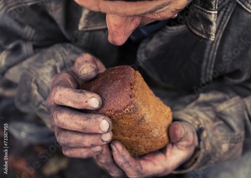 Hunger and poverty Fototapeta