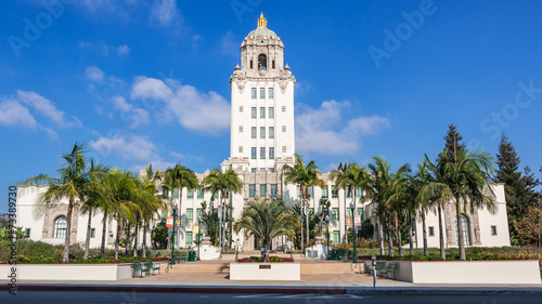 Photo sur Toile Los Angeles Beverly Hills City Hall