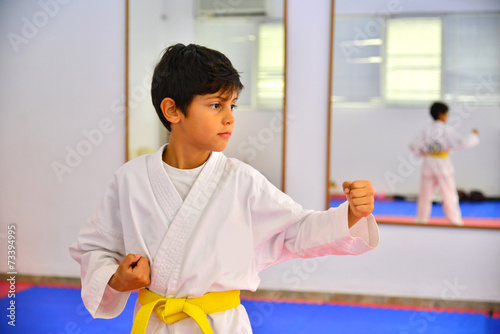 Martial arts kid