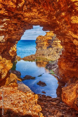 Keuken foto achterwand Rood traf. seascape,landscape and skyline ofthe great ocean road,australia