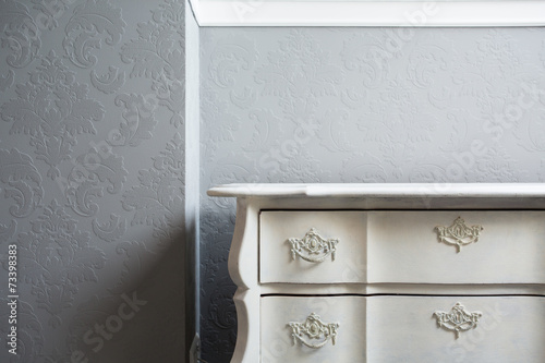 Fotografia, Obraz  Close-up of sideboard