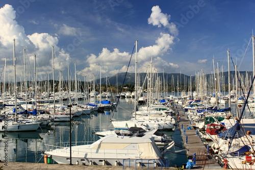 Foto op Plexiglas Water Motor sporten Marina View