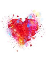 Splattered Heart
