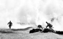 Charge Of Ww2 Soldiers