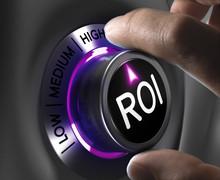 Finance Concept - ROI