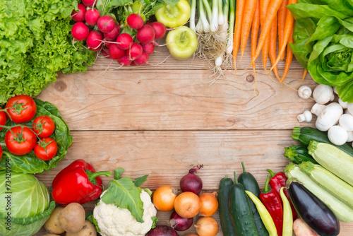 Keuken foto achterwand Groenten Vegetables